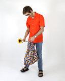 Kleurrijke rPET boodschappentas van Kind Bag