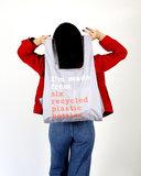 GreenPicnic opvouwbare boodschappentas van gerecycled plastic - Kind Bag