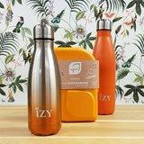 Ajaa lunchbox en Izy drinkflessen in oranje bij Greenpicnic