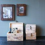 Vintage Mango box, houten kistjes bij Greenpicnic