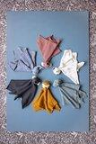 Knuffel doekjes van biologisch katoen Fresk
