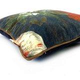 Imbarro sierkussen met bloemenprint - Cushion Violet