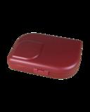 Ajaa bordeaux rode lunchbox van PLA bio plastic, GreenPicnic