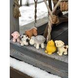Tikiri boerderij dieren speelgoed van natuurlijk rubber