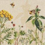 Natuurvriendlijke servetten met Wild Flowers opdruk - GreenPicnic