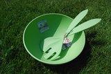 Zuperzozial Bamboe SuperBowl en Saladebestek, GreenPicnic
