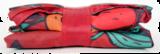 Green Picnic, Ecozz opvouwbare tas met rits, gemaakt van RPET