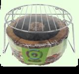 GreenPicnic Ecogrill met herbruikbaar rooster