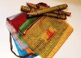 Fairtrade boeddhistische gebedsvlaggetjes uit Nepal