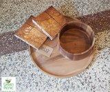 EcoDesign houten dienblad en schaal