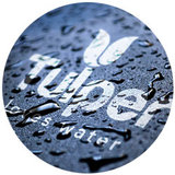 Tulper Logo love water leave plastic