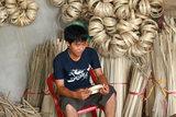Fairtrade werkplaats bamboe schalen