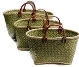 Mandtassen Fairtrade van natuurlijke materialen