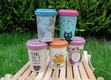 BambooCup koffie to go bekers van bamboe GreenPicnic