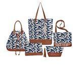 Fairtrade tassen serie Blue Feather