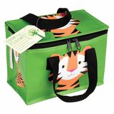 Lunch koeltasje groen met tijger