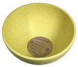 Zuperzozial big bowl pink, bamboe schaaltje in geel