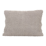 Imbarro cushion Poppy Grey