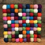 Sjaal met Verhaal onderzetter vierkant kleur vilt
