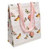 Botanical Design Shopping Bag, tas van gerecycled plastic