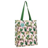 Tropical Palm Shopping Bag, tas van gerecycled plastic