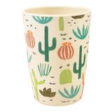 Bamboe drinkbeker met cactus print Desert in Bloom