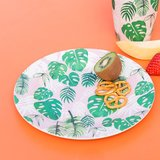 Bamboe bord palmbladeren GreenPicnic