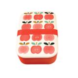 Bamboe brooddoos - lunchbox met appel print