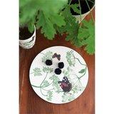 Zuperzozial bamboe ontbijtbord, small bit plate botanic
