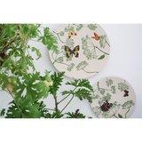 Zuperzozial bamboe serviesgoed met botanische vlinders
