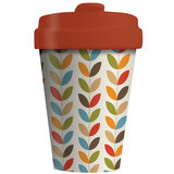 BambooCup Coffee to go beker van bamboe Bright leaves Greenpicnic