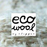 Klippan deken van Eco wol Ralph Linolium Groen_