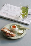Bamboe eierdop Dippy Egg groen van Zuperzozial