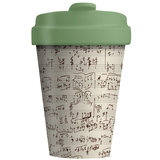 Bamboocup Koffie to go beker Music Notes