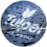 Tulper Logo love water leave plastic