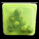 Stasher Bag lime, siliconen bewaarzak in groen