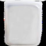 STasher bag large wit, siliconen bewaar- en kook-zak