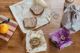 Bee's Wrap sandwich wrap lunchverpakkingen