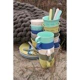 Zuperzozial bamboe servies in Breeze kleuren