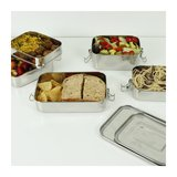 Buruni Leak resistant Two tier lunch box met lunch