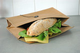 on the road baguette bag van wasbaar papier