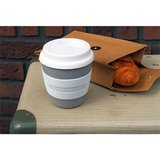 Zuperzozial coffee to go beker Stone Grey