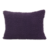 Imbarro cushion Poppy Purple
