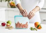 Siliconen bewaarzakje Stasher bag met wortels