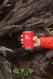 Klean kanteen rode Wide thermos drinkfles