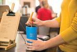 Klean kanteen rietje met rvs koffiebeker