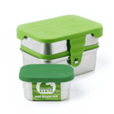 Eco Lunch Box 3 in 1 Rvs lunchbox met 3 compartimenten