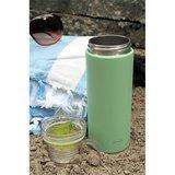 Cababaz thermosfles groen met losse drinkbeker