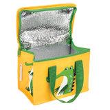 Rex London geel koeltasje met krokodil print