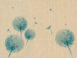 Naturals placemats Fly Away gemaakt van vlas, set van 6
